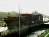 APL boat, Panama Canal